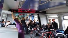 bicicletta in treno