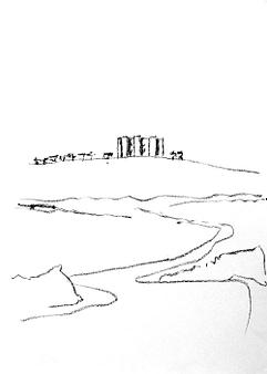 Castel del Monte, il luogo, la natura