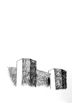 Castel del Monte, dettaglio. Autore architetto Domenico Tangaro
