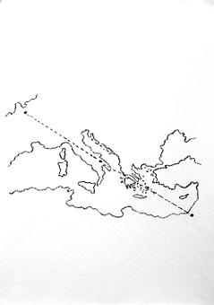 Memorie di Federico - Verso Roma. Autore architetto Domenico Tangaro