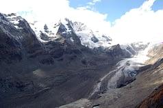 Grossglokner, Austria, i ghiacciai alpini, negli ultimi 150 anni si sono ridotti del 60%
