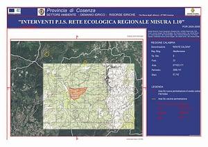 Cartografia di Monte Caloria