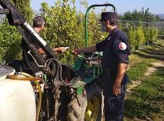 Carabinieri Forestali Pistoia - sequestro pesticidi