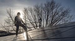 green jobs - pannelli solari