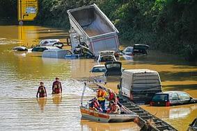 trivelle sostenibili - alluvione in germania