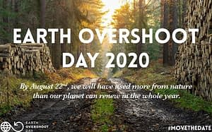 22 agosto overshoot day