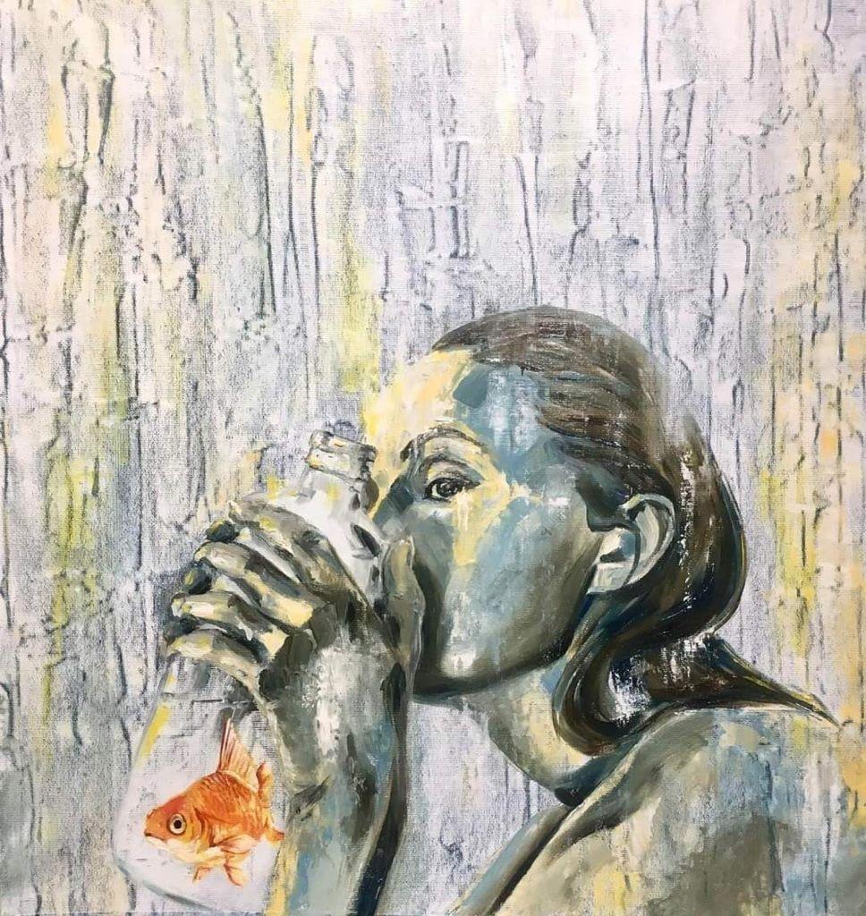 dipinto sul tema ecologico