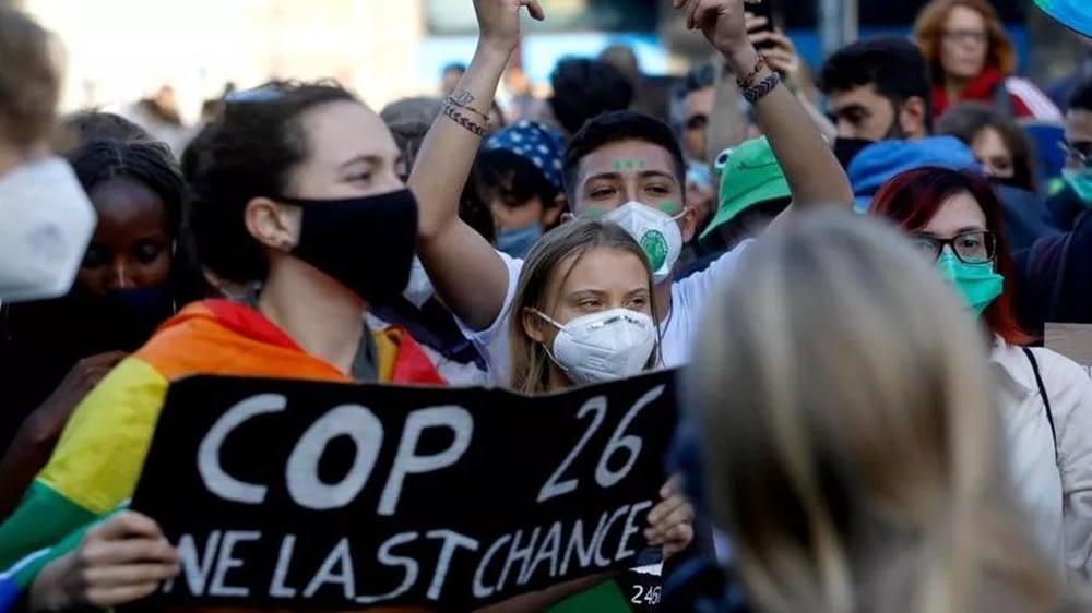 milano sciopero per il clima - foto ANSA