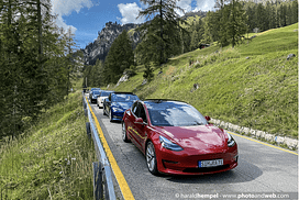 ECOdolomites Week le auto all E-trophy