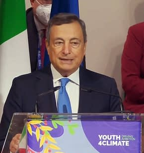 Mario Draghi - Youth4clmate