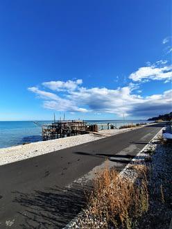 Nella foto la Ciclovia Bike To Coast, in Abruzzo