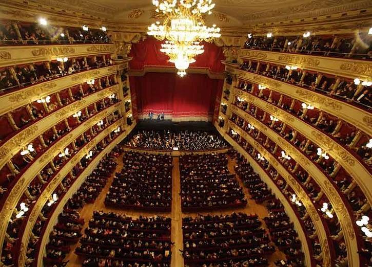 Amianto al Teatro La Scala