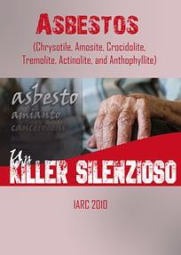 Asbestos (Chrysotile, Amosite, Crocidolite, Tremolite, Actinolite, and Anthophyllite) - IARC 2010
