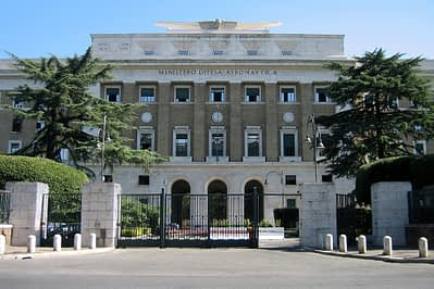 amianto aeronautica militare Roma