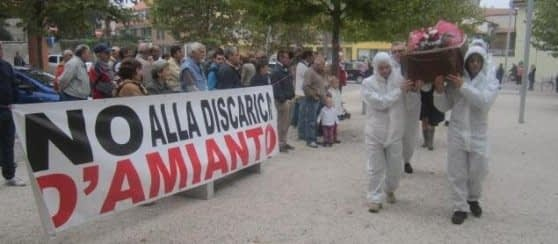 No discarica Amianto
