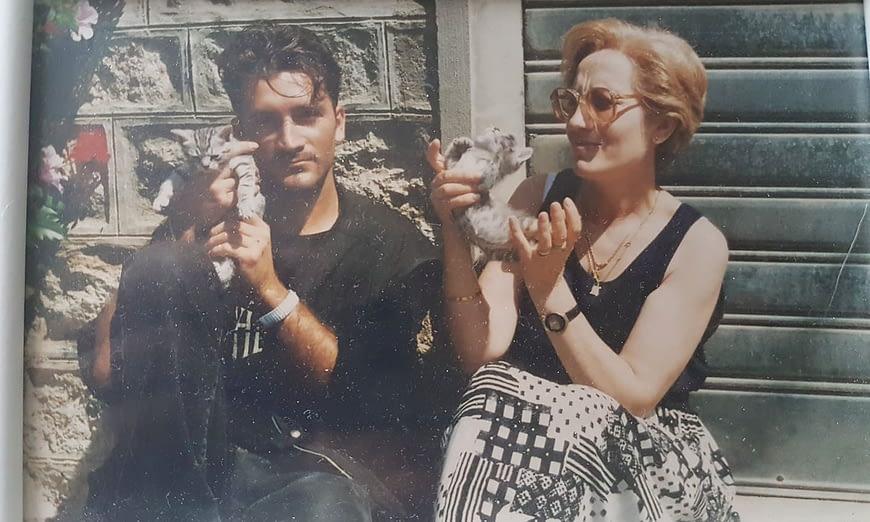 Roberto Marchitto e Paola Corda
