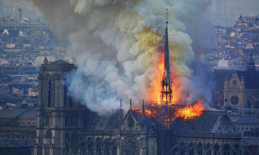 Incendio Notre Dame