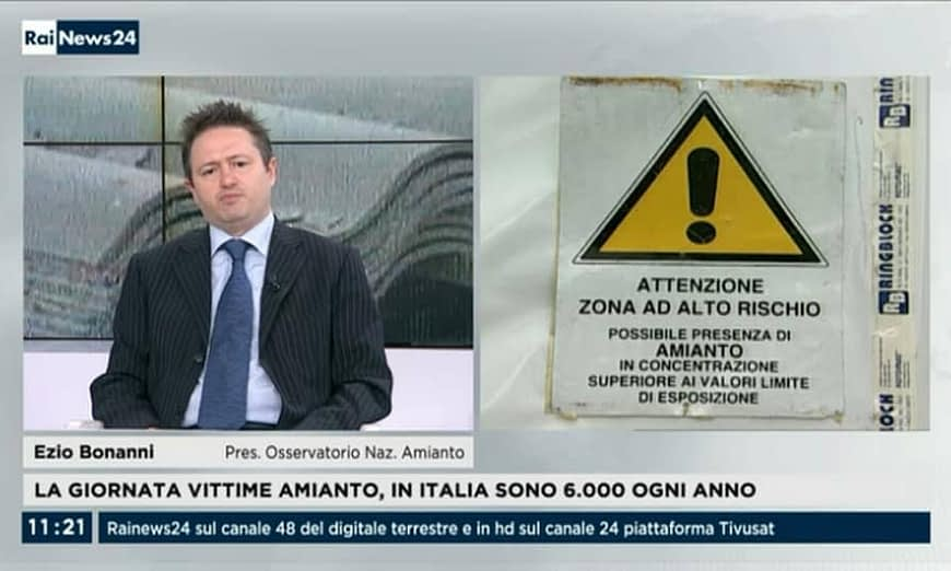 Ezio Bonanni Amianto