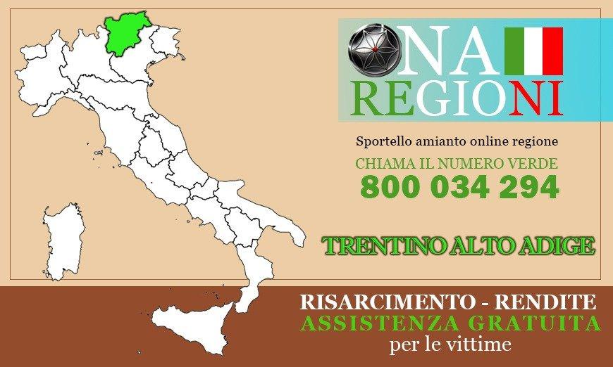 Osservatorio Nazionale Amianto Trentino Alto Adige