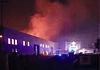 Incendio capannone Pomezia