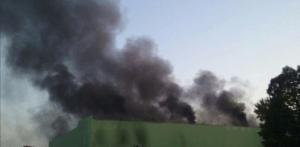 Incendio Trezzano