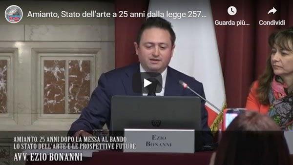 L'Avv. Ezio Bonanni alla Camera dei Deputati
