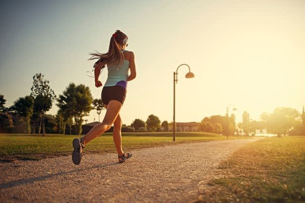 Coronavirus Running - sport
