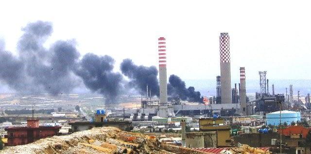 Amianto raffinerie Gela