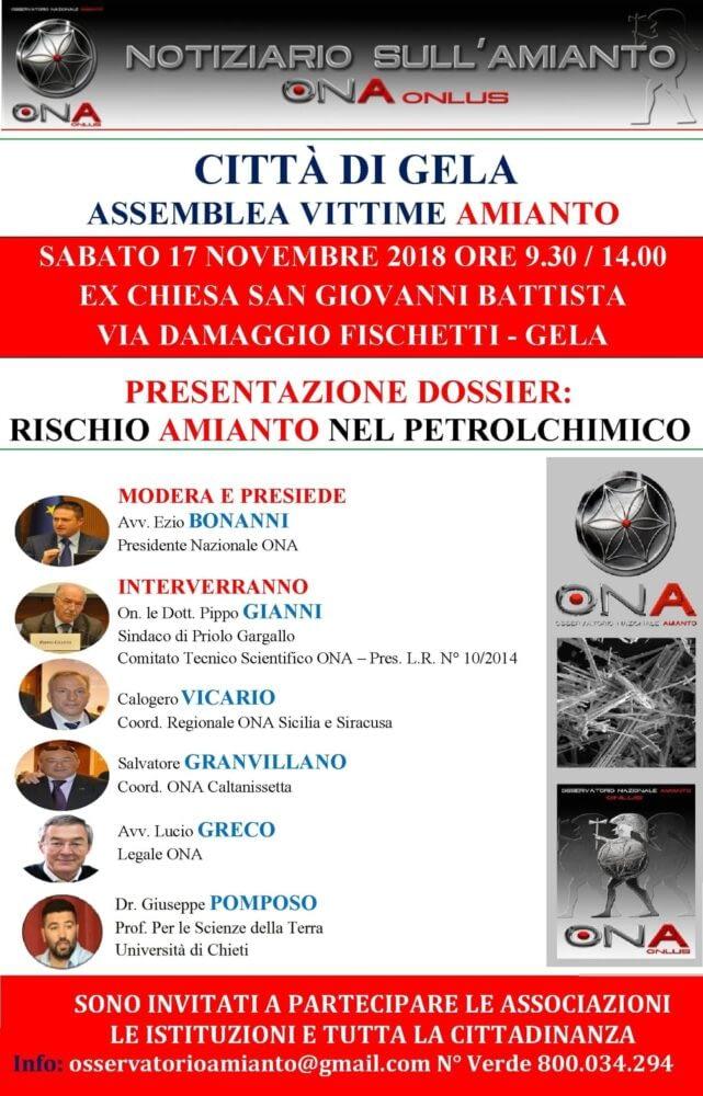 Assemblea Vittime Amianto