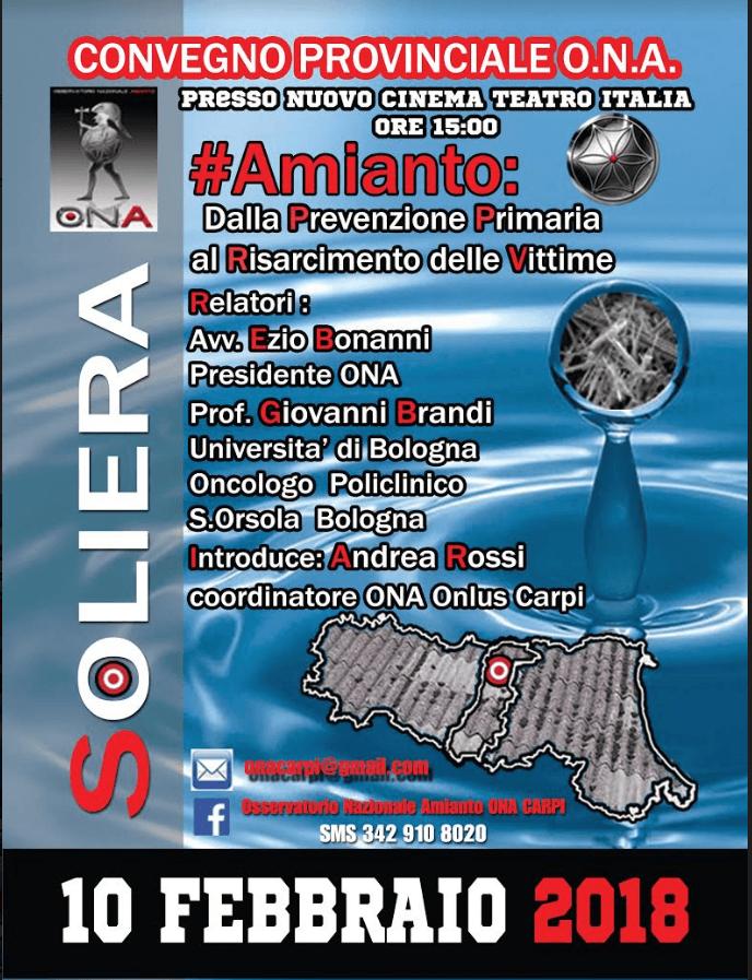 Convegno ONA Amianto