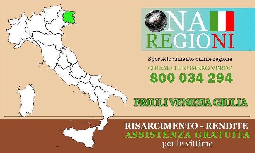 Osservatorio Nazionale Amianto Friuli Venezia Giulia