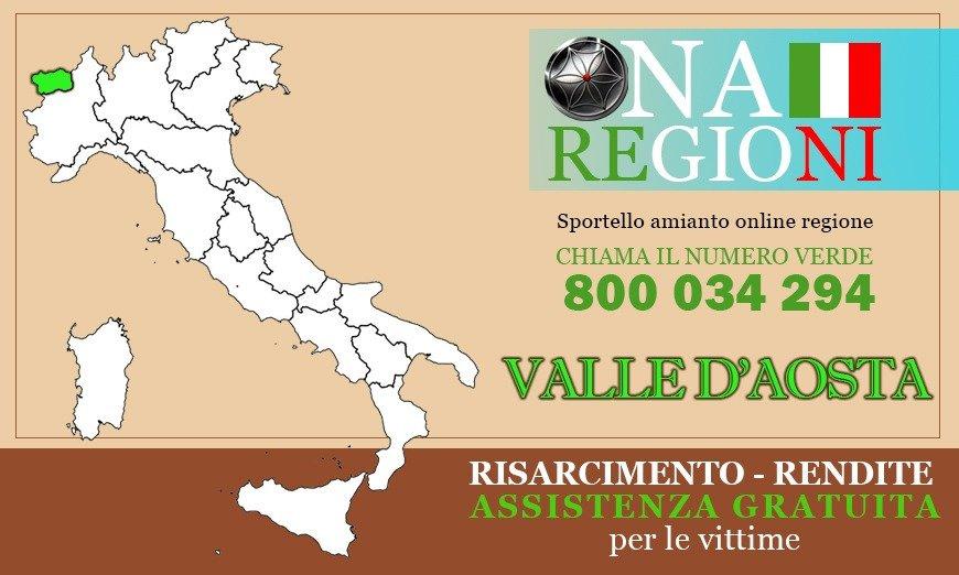 Osservatorio Nazionale Amianto Valle d'Aosta