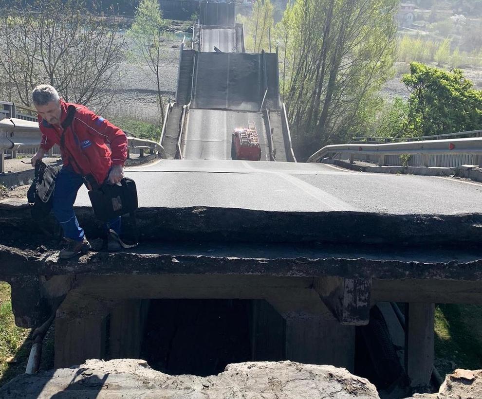 Ponte di Albiano - amianto